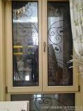 Openslaand raam het van uitstekende kwaliteit van het Aluminium (de Deklaag van het Poeder/afwerking Anodizing/PVDF)