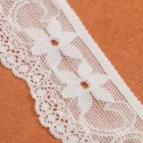 Tessuti africani del merletto di Tulle lavorati a maglia fiore usati indumento per il partito