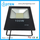 Reflector delgado de aluminio de IP65 100W SMD LED para al aire libre