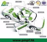 In-vorm van het Schuim van het Geheugen van EVP van de douane de Hoge Duurzame met het Stootkussen van de Handrem van de Auto van het Staal