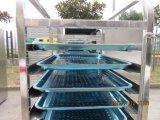 Alcance comercial da venda quente no congelador do refrigerador como o equipamento profissional 009 da cozinha