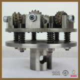 China Factory Diamond Bush Hammer Roller Plates pour la surface de Litchi