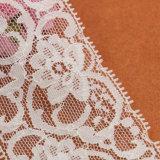 Merletto del ricamo del tessuto del merletto del cavo per gli inviti di cerimonia nuziale