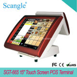 15 Zoll-Touch Screen aller in einem Positions-System Sgt665
