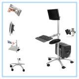 Передвижная стоящая регулируемая рабочая станция компьютера 6870, таблица компьютера PC