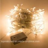3mx3m luz de Natal da corda da decoração da cortina do sincelo de 300 diodos emissores de luz com 8 modalidades de iluminação