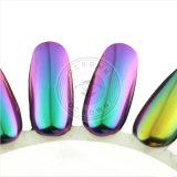Colorant brillant de perle de caméléon de manucure de poudre de scintillement de clou d'effet de miroir