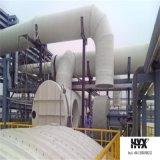 FRP/GRP/Gfrp/codo de la fibra de vidrio - instalación de tuberías