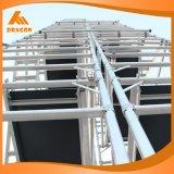 Sistema dobro de alumínio do andaime do material de construção do andaime da largura