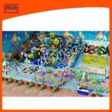 Parc d'attractions mou en plastique populaire de cour de jeu d'enfant en bas âge de thème d'océan
