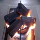 Máquina hecha de bambú pura ecológica carbón de leña para barbacoa