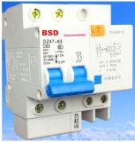 Disyuntor de corriente residual Dz47le-63 con protección contra sobrecarga