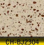 Laje quente de quartzo da venda, pedra de quartzo da areia da cor para bancadas
