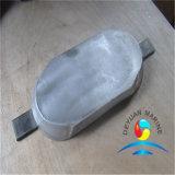 Schweißens-Typ Zink-Anode, die Gerät für Rumpf (einzelner, ausstattet Eisenfuß)