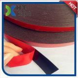 le double de mousse d'Arylic de noir de doublure de rouge de 0.25mm a dégrossi bande