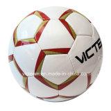 最もよい評価される手によってステッチされるPUの耐久力のあるサッカーボール