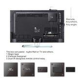 Di Lxx X96 Amlogic S905X del Android 6.0 del quadrato migliore TV casella astuta Android di vendita della parte superiore del set televisivo del commercio all'ingrosso della casella di memoria 4k