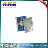 La configuración de papel NFC de alta frecuencia marca con etiqueta (Ntag 213)