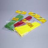 10 de '' cintas plásticas de nylon de travamento automático pretas 50lbs Natural/UV