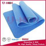 Alta stuoia elastica di esercitazione di Pilates di colore solido della stuoia di yoga di EVA