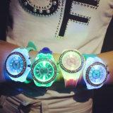 Uhren der Form-Dame-LED Genf (P5902)