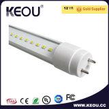 PC+Aluminum T8 LED 관 램프 2FT 3FT 4FT 5FT