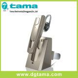 Elegante Bluetooth estéreo de auriculares con gancho para la oreja práctico soporte de almacenamiento