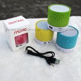 Haut-parleur portatif sans fil de qualité mini avec le logo estampé (572)