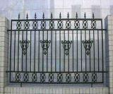 Декоративные двор цинк стальные ограждения и ворота