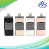 3 en 1 OTG USB3.0 Stick Smart Phone USB Flash Drive para Android Ios Windows