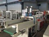 Gfq vorbildlicher Heißsiegelfähigkeit-kalter Ausschnitt-Weste-Beutel, der Maschine herstellt