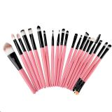 Outils de maquillage 20 PCS Set Professional Cheveux synthétiques Beauty Cosmetic Makeup Brushes