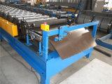 Il colore ha ricoperto il rullo d'acciaio precedente, rullo delle mattonelle delle mattonelle che forma la macchina