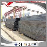 tubo hueco cuadrado material del acero de la sección de la estructura de 80X80 milímetro ASTM A500 Q235