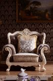 Sofà Tufted del tessuto del salone del tasto europeo della mobilia