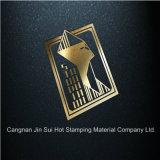 名刺ボックスのための金ホイルのペーパー熱い押すホイル