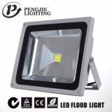 Alta luz de inundación al aire libre del jardín del lumen LED que hace publicidad de la lámpara 85-265V