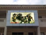 Tabellone per le affissioni impermeabile fissato al muro esterno della visualizzazione di LED del video P8