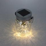6. Proteção Ambiental Solar Firefly Jar Lights com piscar