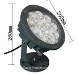 Luz de inundación del precio bajo 115*H90 6W 220V LED del alto brillo de la buena calidad