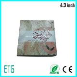 Video LCD-Bildschirm-Bildschirmanzeige-Gruß-Karten/Digital-Gruß-Karte