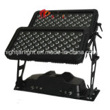 LED 120PCS * 10W 4in1 RGBW ciudad de color de la arquitectura de la pared de lavado LED etapa luz