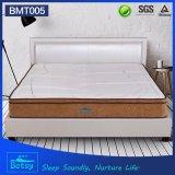 OEM almohadilla de colchón compacta 28cm con relajante bolsillo de punto tejido de punto y la capa de espuma de memoria