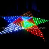 110V多彩なネットは1000年のLEDの星のネットライトクリスマスの装飾をつける