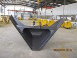 A cubeta trapezoidalmente da máquina escavadora, balanç a cubeta resistente