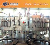 Máquina de rellenar carbonatada de relleno automática de las bebidas que capsula que se lava