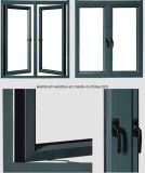반영된 유리제 알루미늄 Windows (NH50)를 가진 알루미늄 여닫이 창 Windows