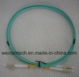 Cabo frente e verso Multimode da fibra óptica do Sc-Sc milímetro Dx Om3 50/125u 3.0mm