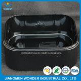 Ral9005内部の鋼鉄のための黒く光沢度の高いエポキシポリエステル粉のコーティング