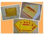 Los pegamentos calientes del derretimiento para envuelven y el coser del bolso del mensajero